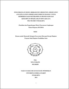 Pengembangan modul berbasis poeprediction observation and abstract ccuart Image collections